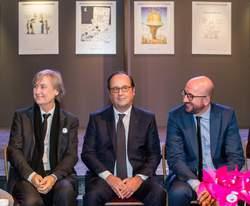 Que faisait François Hollande à Molenbeek ce lundi?