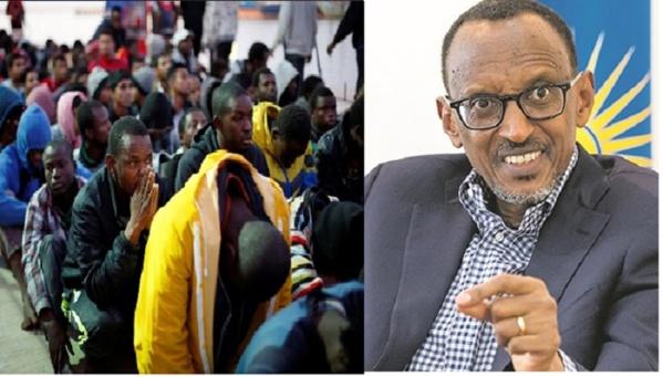 Le Rwanda prêt à accueillir 30.000 migrants africains (ministre) — Esclavage en Libye