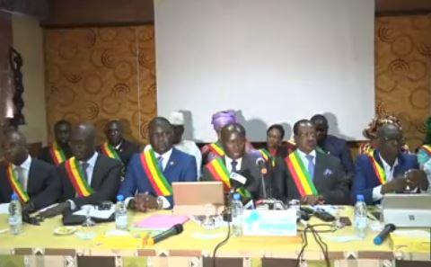La conférence de presse des députés non inscrits sur l'affaire Khalifa SALL