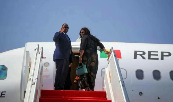 Le président Macky Sall en Côte d'Ivoire