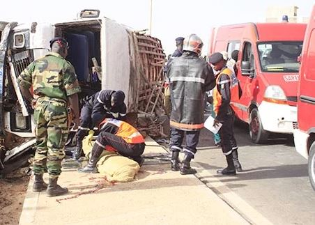 Accident – Diamniado: un mort et des blessés