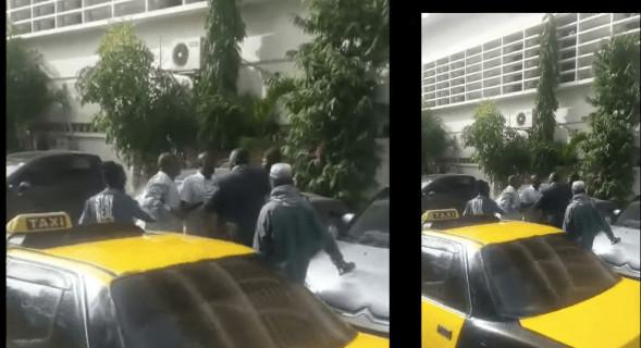 Vidéo: Le député Farba Ngom veut se battre en pleine rue à Dakar