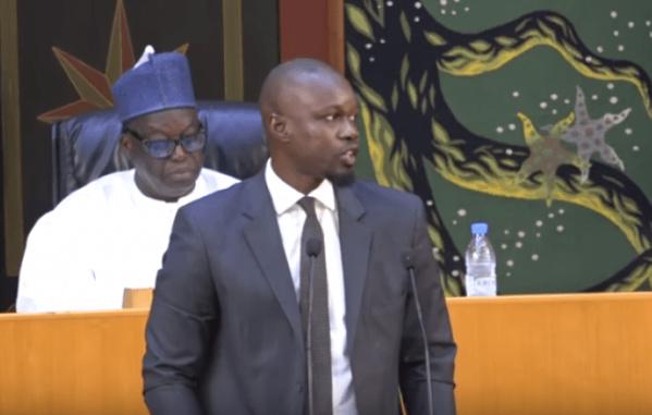 Vidéo – Ousmane Sonko: « Un pays dirigé par un lion qui dort et un Pm qui danse le Mbarass… »