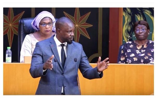 Ousmane Sonko au Premier Ministre: « Vous n'avez pas dit la vérité aux Sénégalais. Le TER coûte 1200 milliards au lieu de 568 milliards »