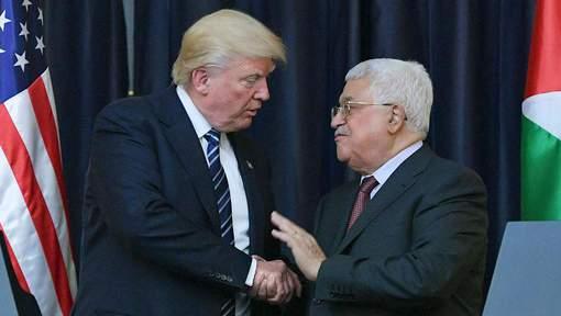 "Trump informe Abbas qu'il veut ""transférer l'ambassade à Jérusalem"""