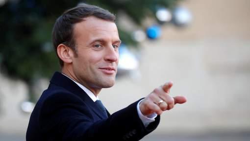 """Macron appelle à une """"mobilisation beaucoup plus forte"""" en faveur du climat"""