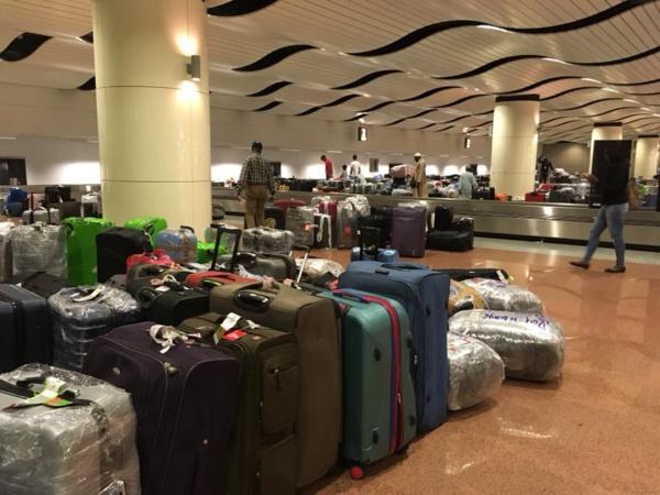 Arrivée depuis 3 jours 1/2, je n'ai toujours pas ma valise...(Par Léticia Bot)