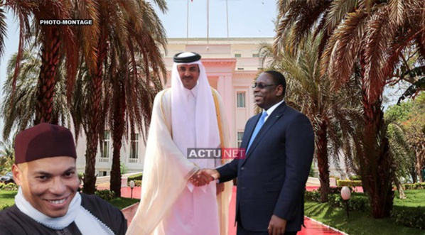 L'Emir du Qatar rencontre Macky Sall : Le retour de Karim négocié aujourd'hui…