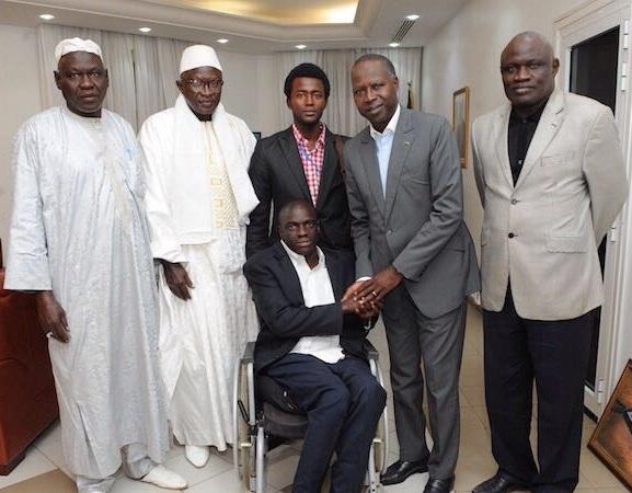 Ousmane Ndoye: un handicapé qui a gravité tous les échelons, devient l'homme de l'année
