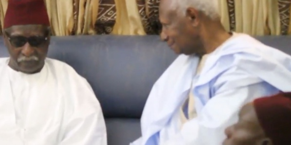 "Abdou Diouf à Serigne Mbaye Sy Mansour : "" je vous confie Macky Sall"""