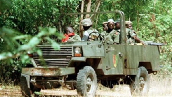 « L'Armée a largué 6 obus sur des bases de la Mfdc »