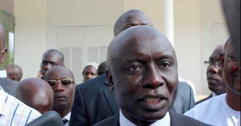 """Idy dénonce : """"Un procès politique destiné à éliminer un adversaire politique"""""""