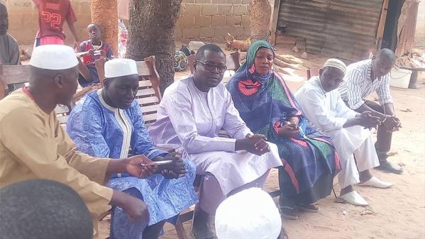 Tuerie Boffa: le Dr Ibrahima Mendy chez les familles des victimes