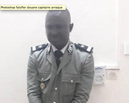 Un voyou devient « capitaine de Douane » grâce à Photoshop