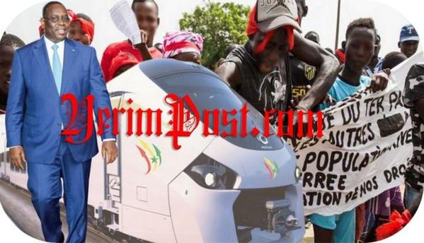 Colobane 2: les populations menacent de bloquer le Ter