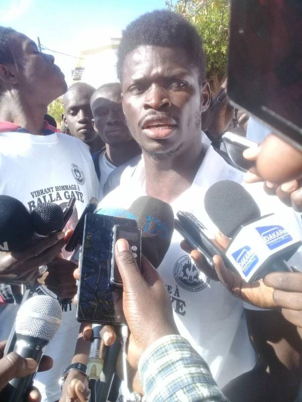 Commémoration de la disparition de Balla Gaye: les étudiants demandent que justice soit faite !