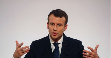 Macron ne verra pas les tas d'ordures dans Dakar