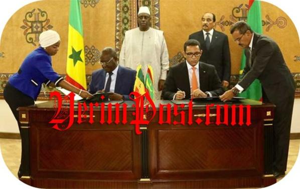 Ces questions légitimes que soulève le traité signé entre le Sénégal et la Mauritanie