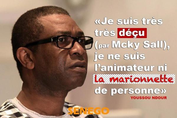 Youssou Ndour en colère- La réception de Bougane Guèye Dani au palais serait-elle l'origine?