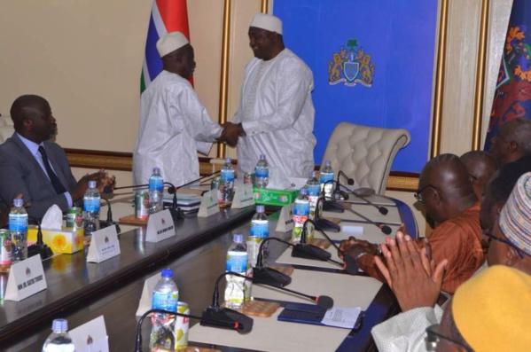 Après avoir prêté serment, les mots du désormais Vice-Président de la Gambie (IMAGES EXCLUSIVES DAKARPOSTE)