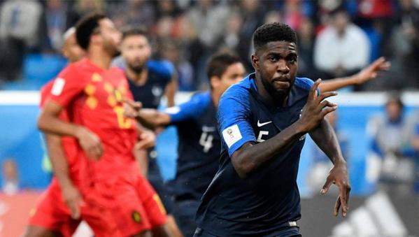 France-Belgique (1-0) : Umtiti donne l'avantage aux Bleus !