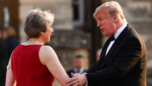 Donald Trump torpille le projet de Theresa May