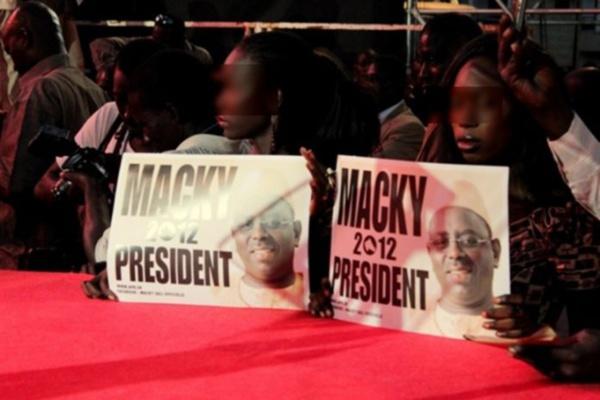 Audience au palais pour Macky 2012
