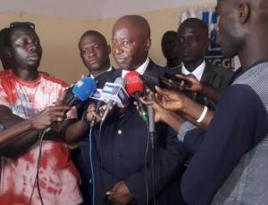 L'ancien membre de l'Ofnac Ibou Yagou Ndiaye candidat à la Présidentielle