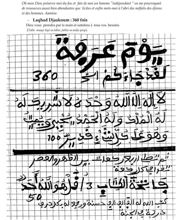 Ce qu'il faut faire le jour d'Arafat