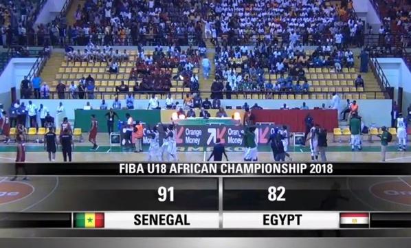 Afrobasket U18 – Le Sénégal est en finale et participera au Mondial Basket U18 de 2019…