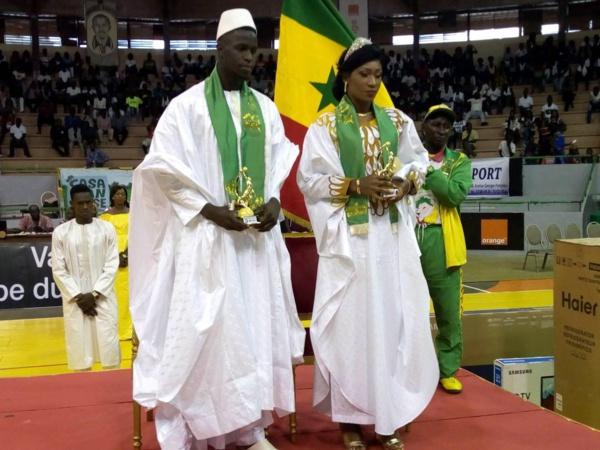 Arrêt sur image: Le couple royal du Basket décoré