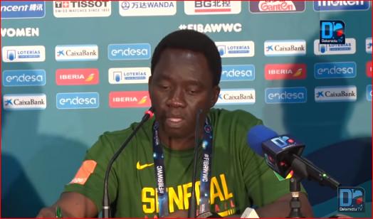 """Cheikh Sarr : """"On avait envie d'atteindre la barre symbolique des 80 points, c'est-à-dire 20 points par quart-temps »"""