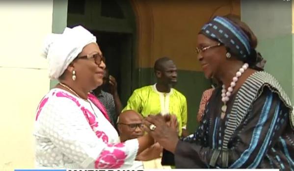 Vidéo: Amsatou Sow Sidibé chez Mme le maire, Soham Wardini