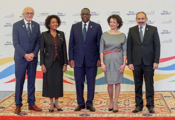 Ouverture du XVIIe Sommet de la Francophonie ce matin à Erevan (IMAGES)