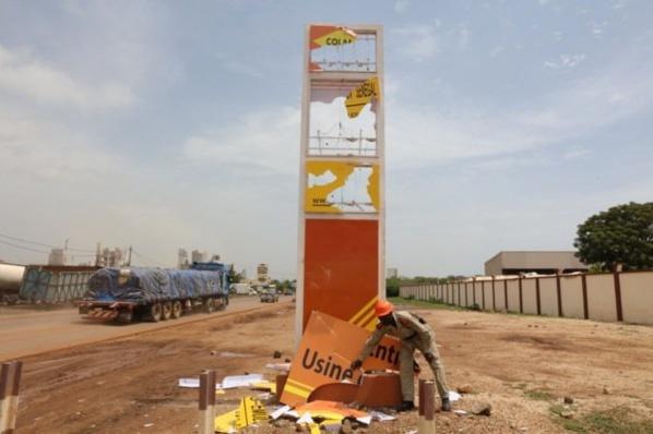Rufisque Thiawléne : La Société Colas Sénégal/MSY BTP de Serigne Djamil Sy Mansour victimes de Vandalisme: Leurs locaux saccagés par des riverains