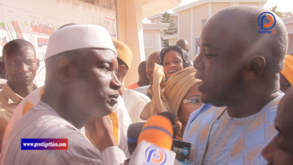 Arrêt sur image ! Ce geste salutaire du ministre de l'intérieur ALY Ngouille Ndiaye...