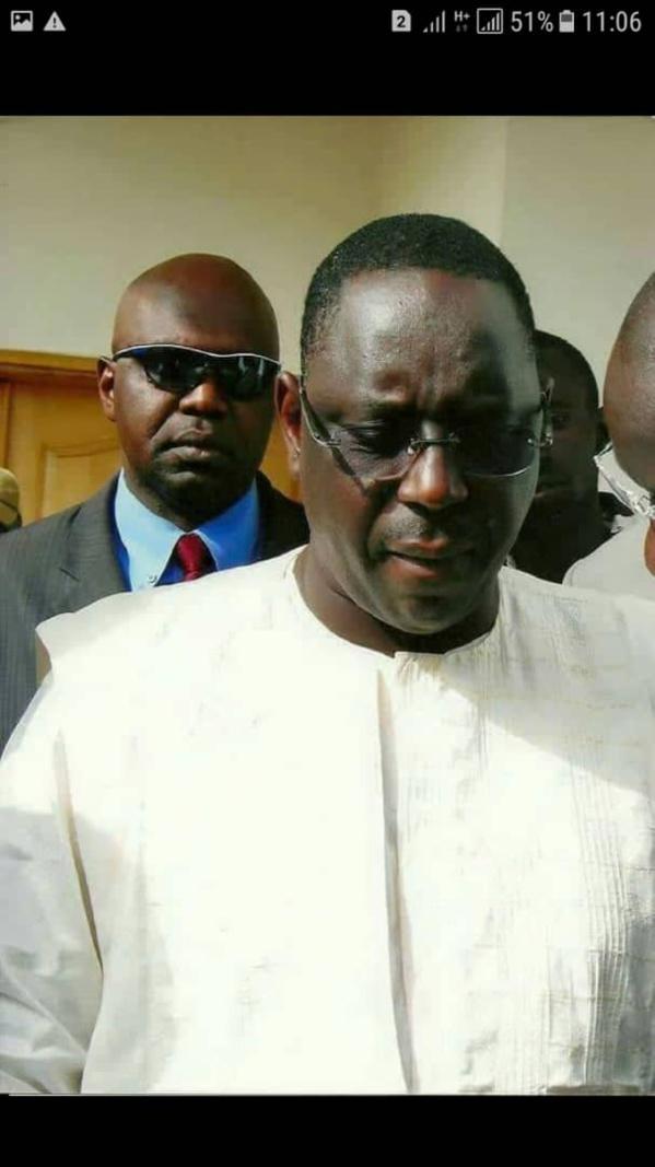 Macky perd un de ses premiers militants et garde du corps- Amadou Tidiane Camara  démissionne de l'APR pour rejoindre Karim Wade