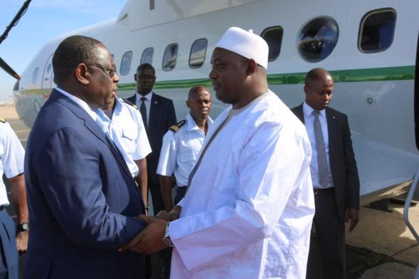 Le Pr Adama Barrow à Dakar ce dimanche (EXCLUSIVITÉ DAKARPOSTE)
