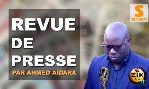 Revue de presse (Wolof) Zik fm du mardi 06 novembre 2018 par Ahmed Aidara