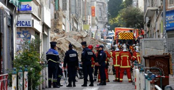 Un sixième corps retrouvé sous les décombres des immeubles effondrés à Marseille
