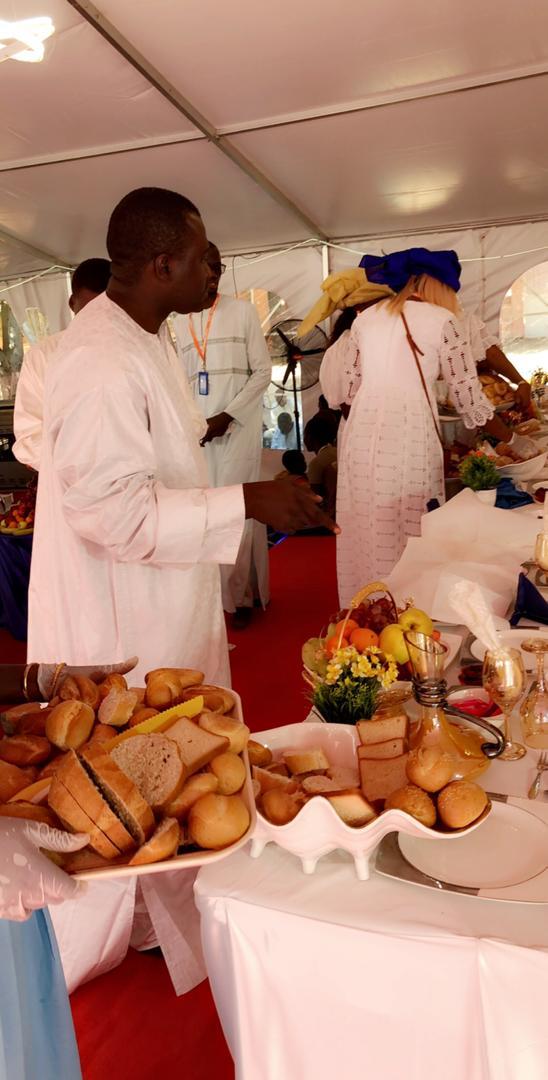 Mawlid Nabi- Sokhna Aïda Diallo Thioune étale encore sa force de frappe...gastronomique !
