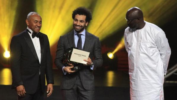 Mohamed Salah encore élu Joueur africain de l'année, pour 2018