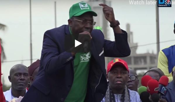 """Mobilisation FRN : Pr Issa Sall du PUR : """" Nous devons éliminer Macky Sall dès le 1er tour"""""""