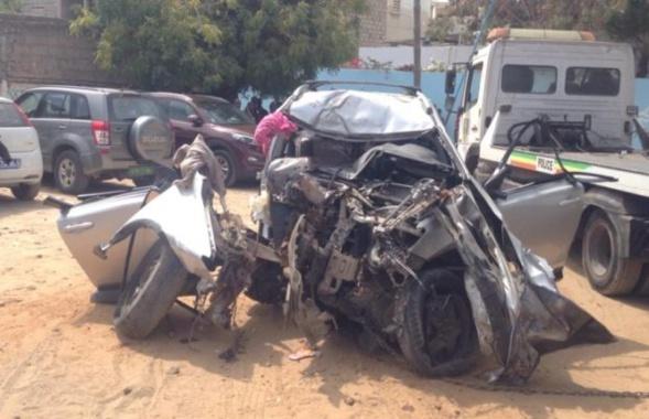 Sicap Amitié : Une dame dans une Toyota heurte un arbre, 6 morts enregistrés !