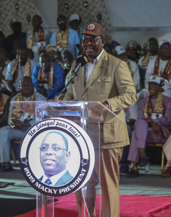 "Macky Sall à Kolda :  ""En 2035, le Sénégal sera la lumière en Afrique"""