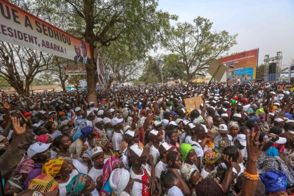 Arrivée à Sedhiou : Macky Sall triomphal dans le Pakao