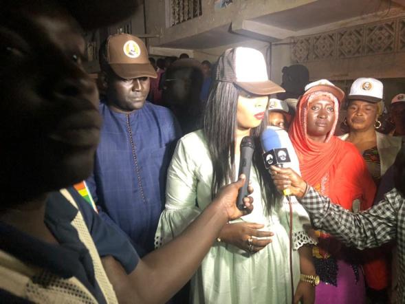 Grand-Yoff : Fatoumata NIANG BA, la coordonnatrice du CEB de la Cité Millionnaire  sillonne les artères de sa localité