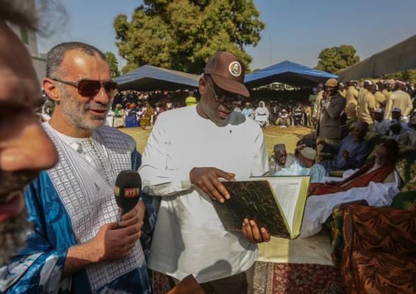 Macky fait foule à Sokone