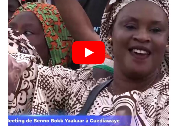 Les temps forts du meeting de Benno Bokk Yakaar à Guédiawaye