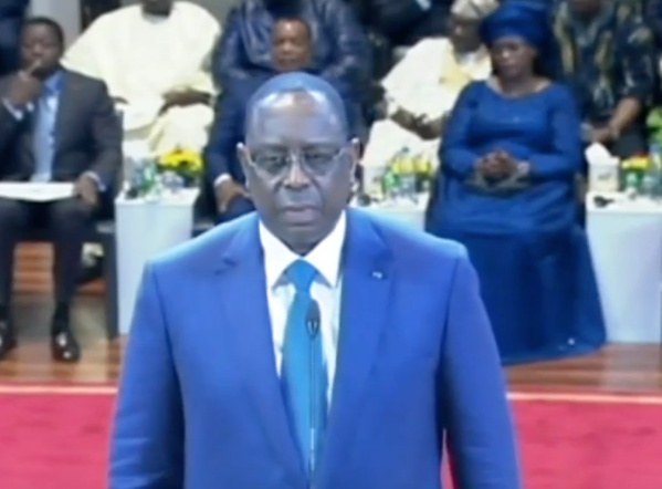 Macky promet d'être le Président de tous les Sénégalais et réitère son appel au dialogue